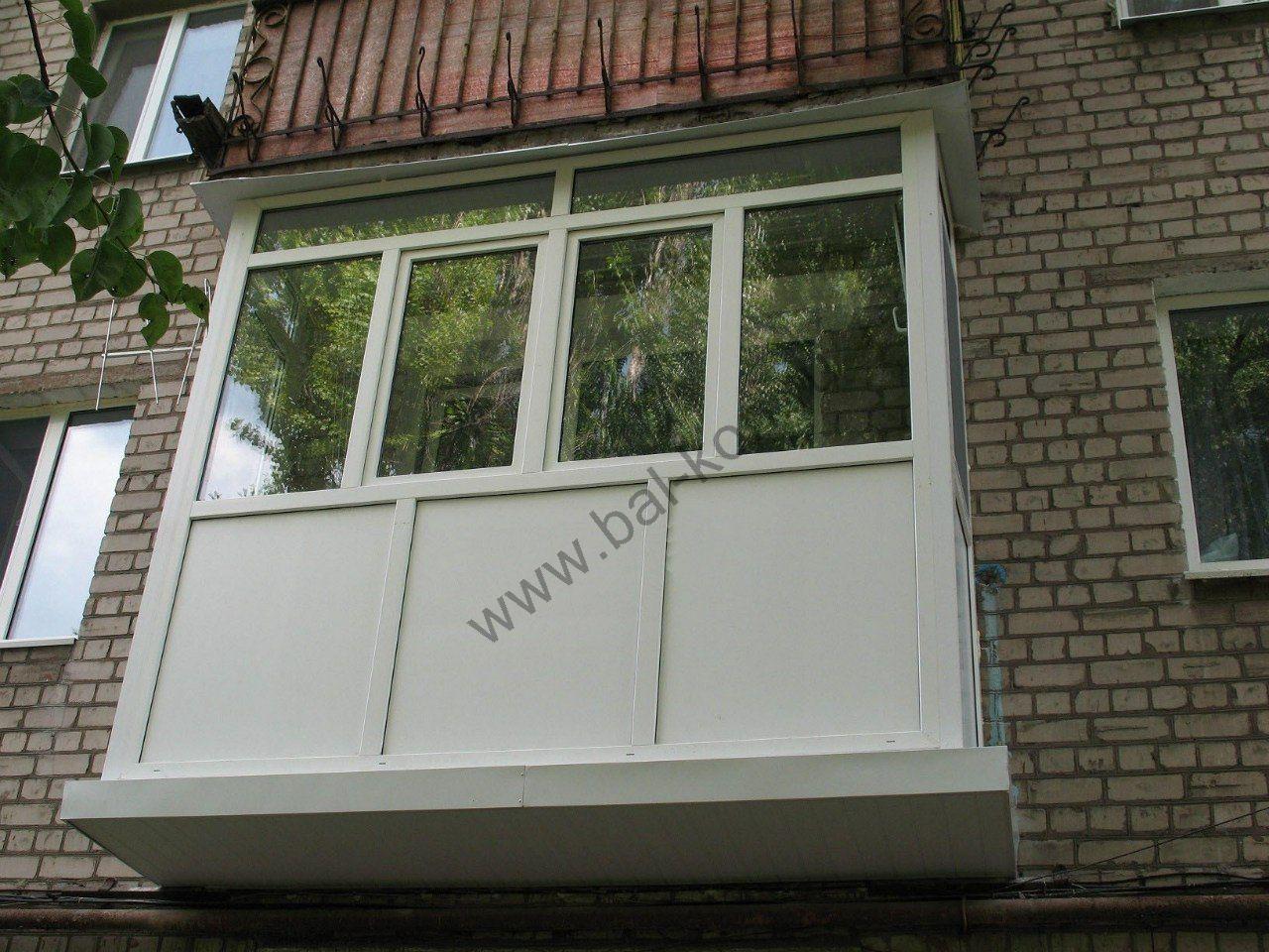 Фасад балкона фото