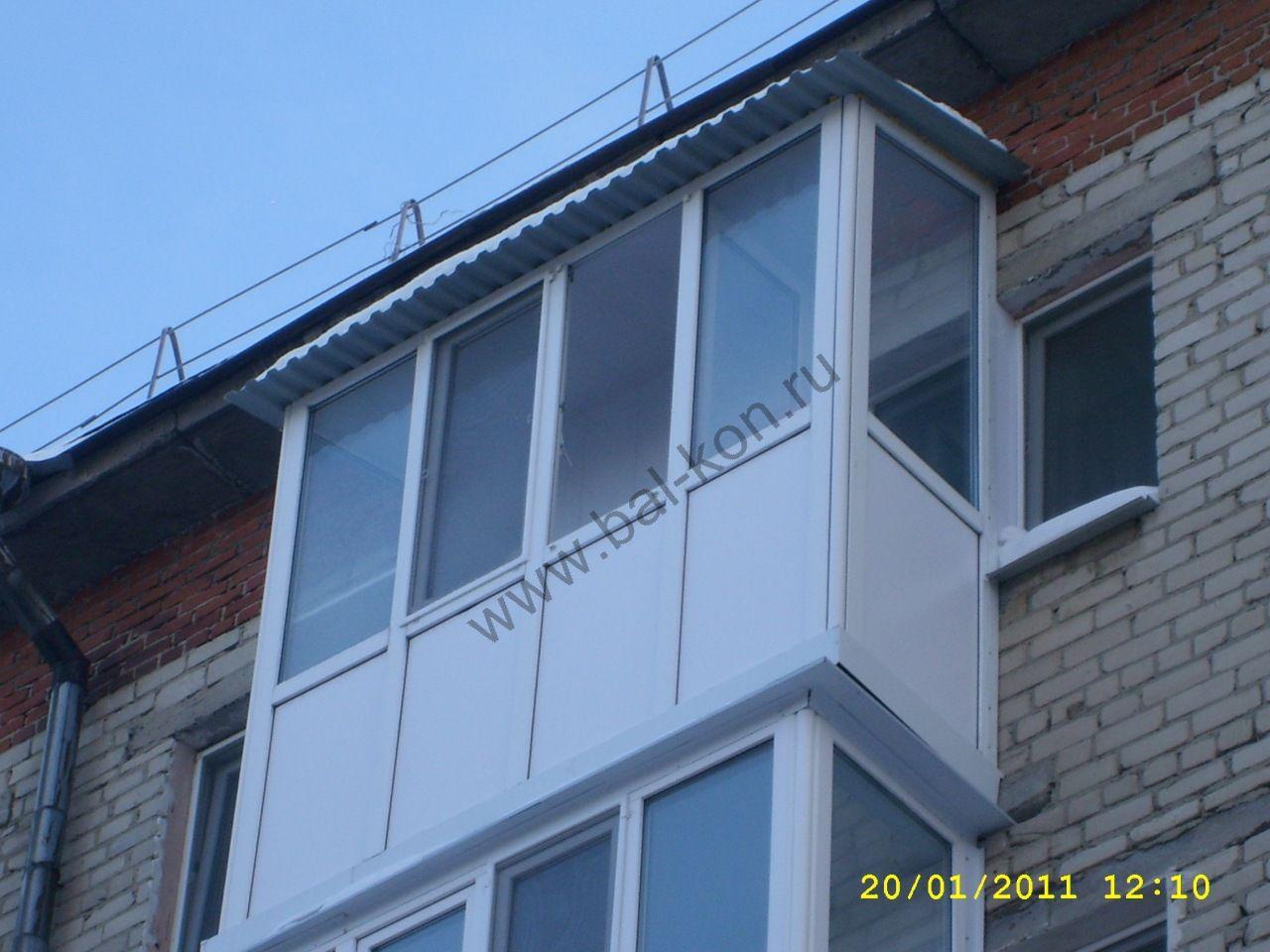 Французское остекление балконов в тюмени - на портале blizko.