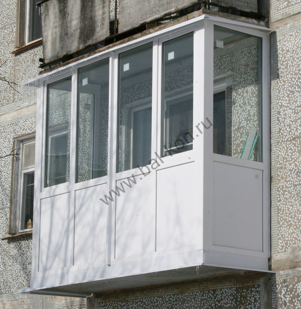 Французский балкон в хрущевках..