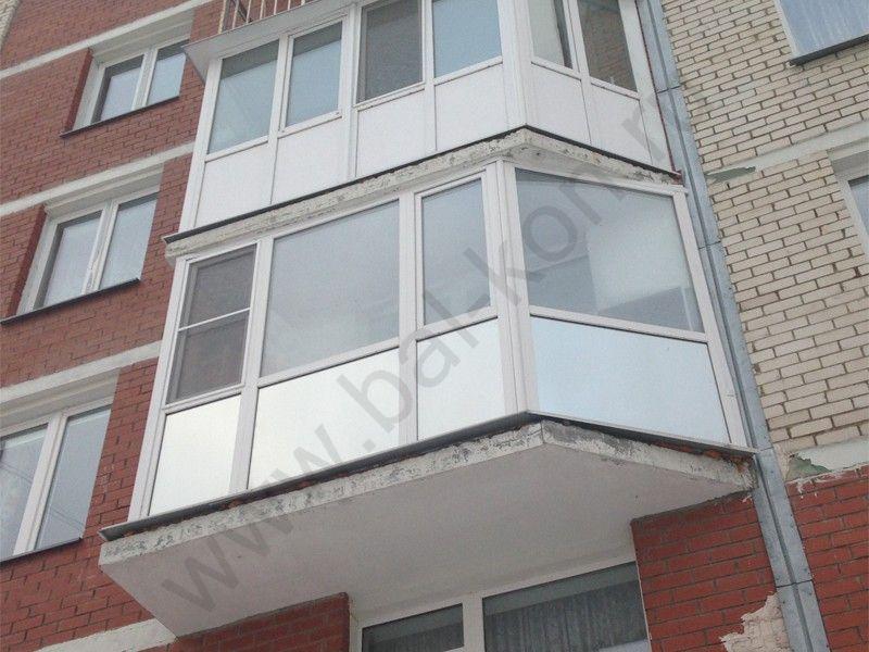 Остекление балконов, цены в екатеринбурге.