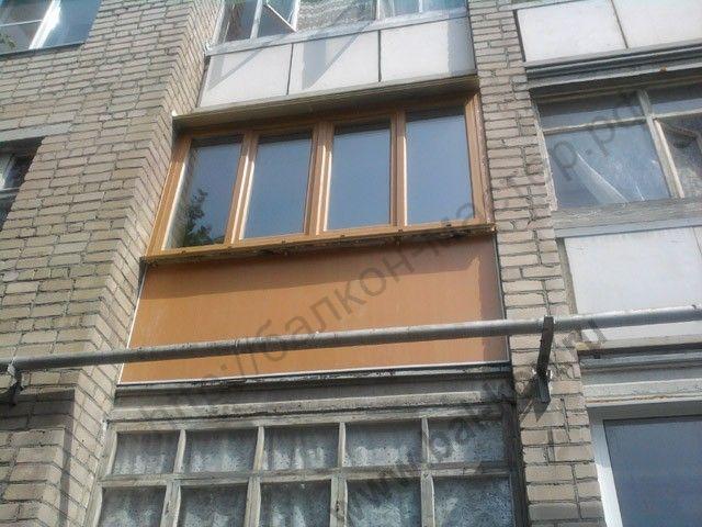Инструкция по нанесению жидких обоев - остекление балконов.