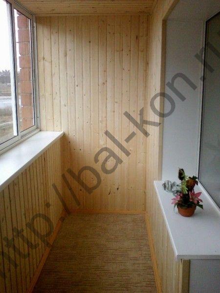 Екатеринбург - отделка балкона - фото.